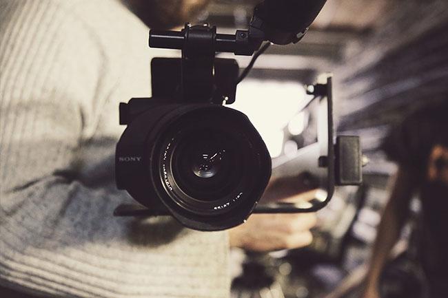 Operador de cámara profesional