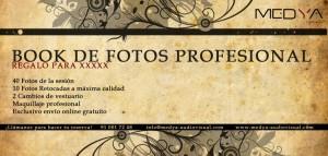 Tarjeta de Book de Regalo Barroca