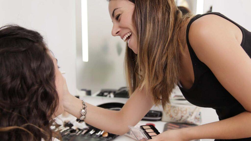Como maquillar sesión de fotos