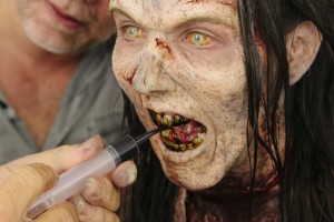 Maquillaje Walkingdead