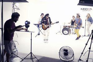 Grabación videoclips Madrid
