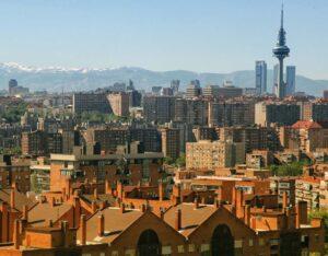 Skyline Madrid filming