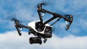 Grabación aerea con drone