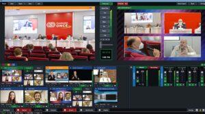 Productora audiovisual evento online